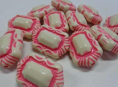 10 Perline in Acrilico Pietra Preziosa