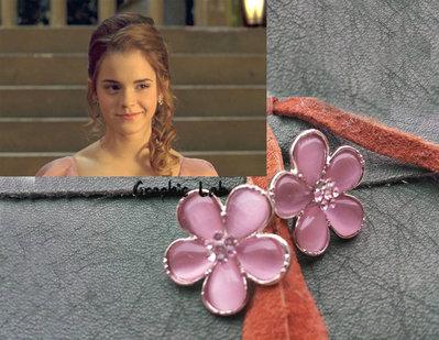 Orecchini di Hermione indossati al Ballo del Ceppo Harry Potter