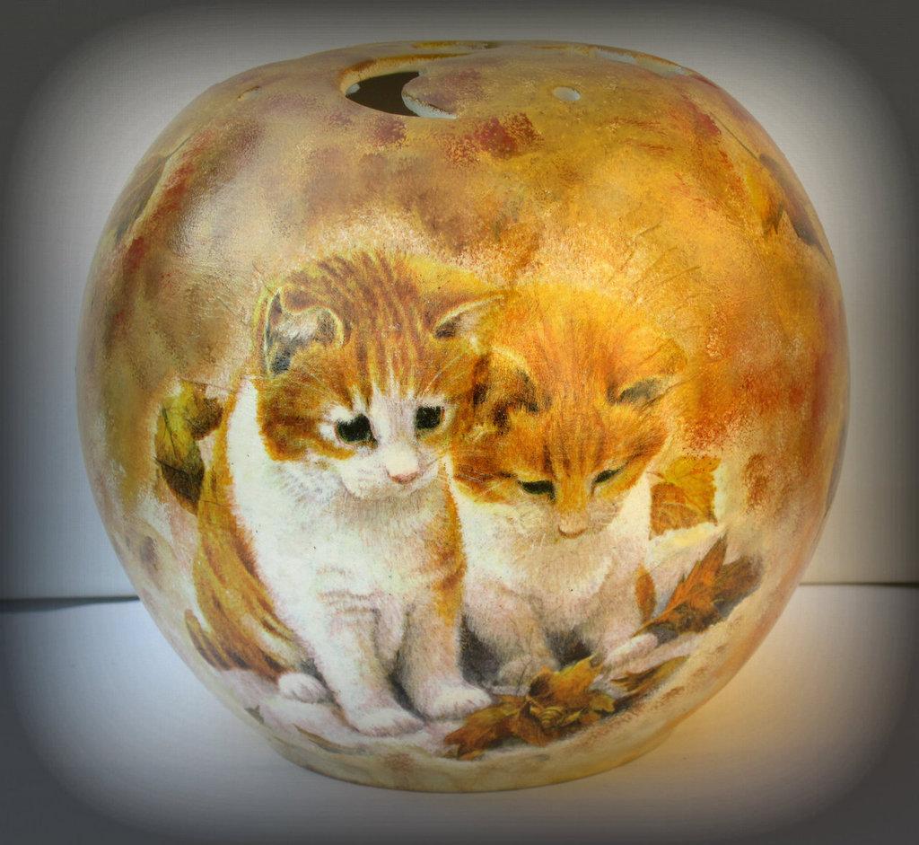 Coprilumino in ceramica