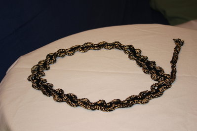 Cintura nera e oro