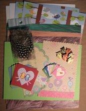 Kit creativo per Scrapbooking & Cardmaking - Happy Birds^^