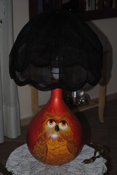 lampada da tavolo gufo
