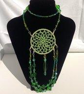 Collana etnica in perle veneziane