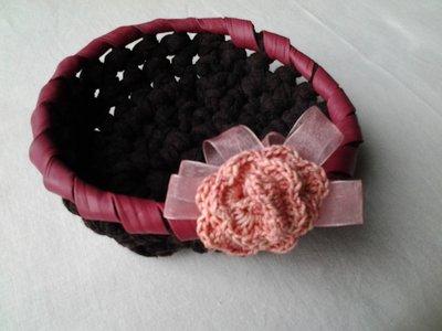 Cestino crochet