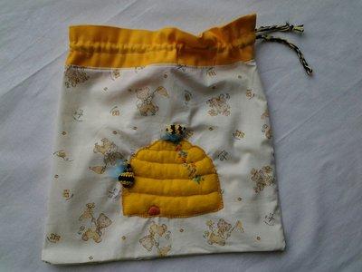 Sacca in tessuto porta oggetti