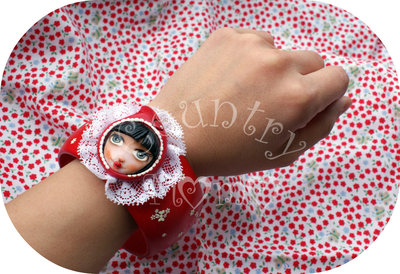 "bracciale ""little red cap"" *"