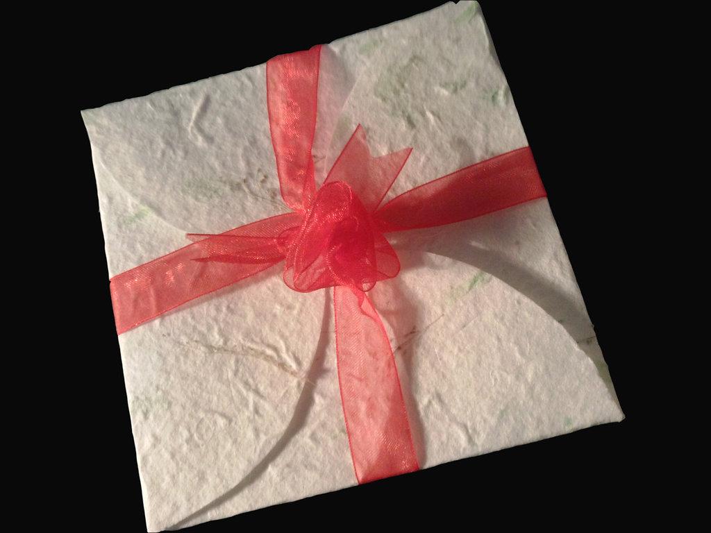 Partecipazione Origami in Carta di Gelso