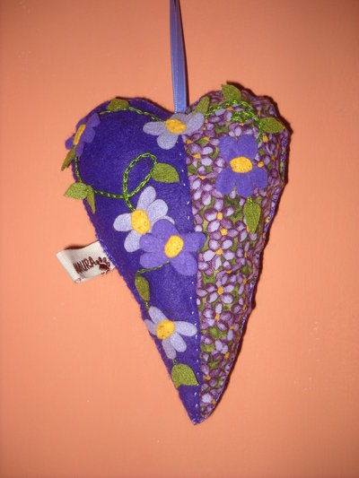 Cuore violette