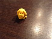 Maialino giallo portafortuna