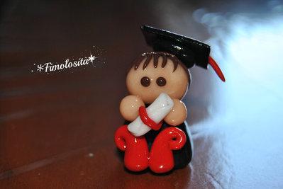 Bomboniere personalizzabili per laureato in Fimo :) (SOLO SU RICHIESTA)
