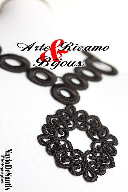 Collana in pizzo Macramè BY Arte Ricamo & Bijoux