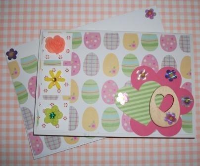 Pasqua Collection^^ - Biglietto di Auguri HandMade1 - Cardmaking e Scrap