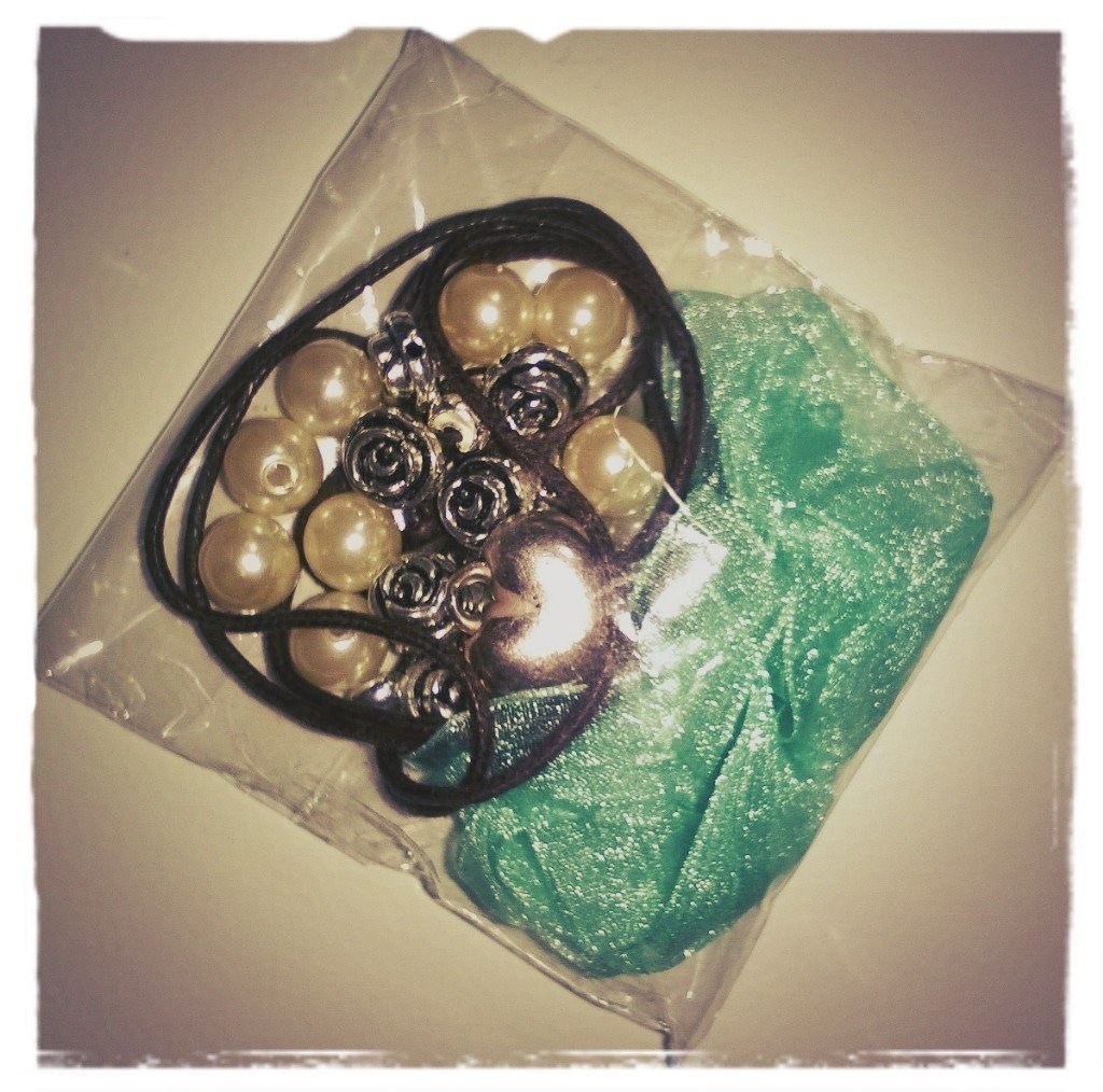 Kit bracciale con perle