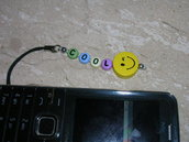phone strap lettere colorate - cool