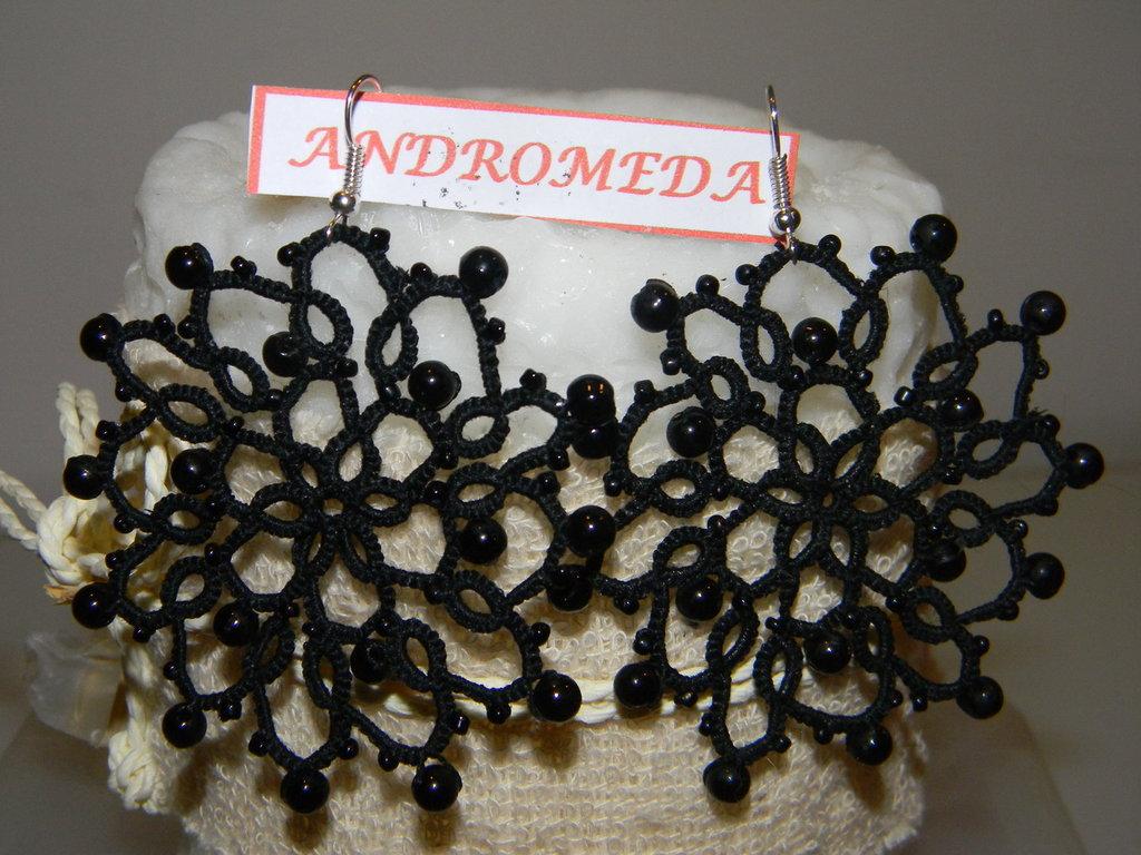 Andromeda orecchini a chiacchierino