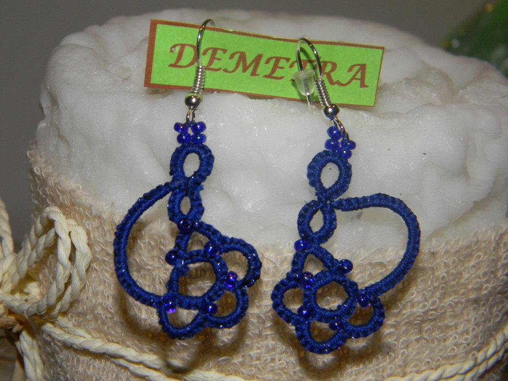 Demetra blu a chiacchierino