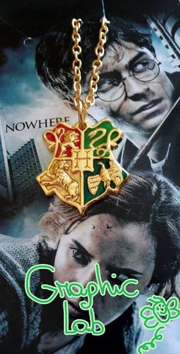 Collana Stemma Hogwarts