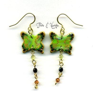 SCONTATI ♥ Aislin ♥ orecchini farfalla