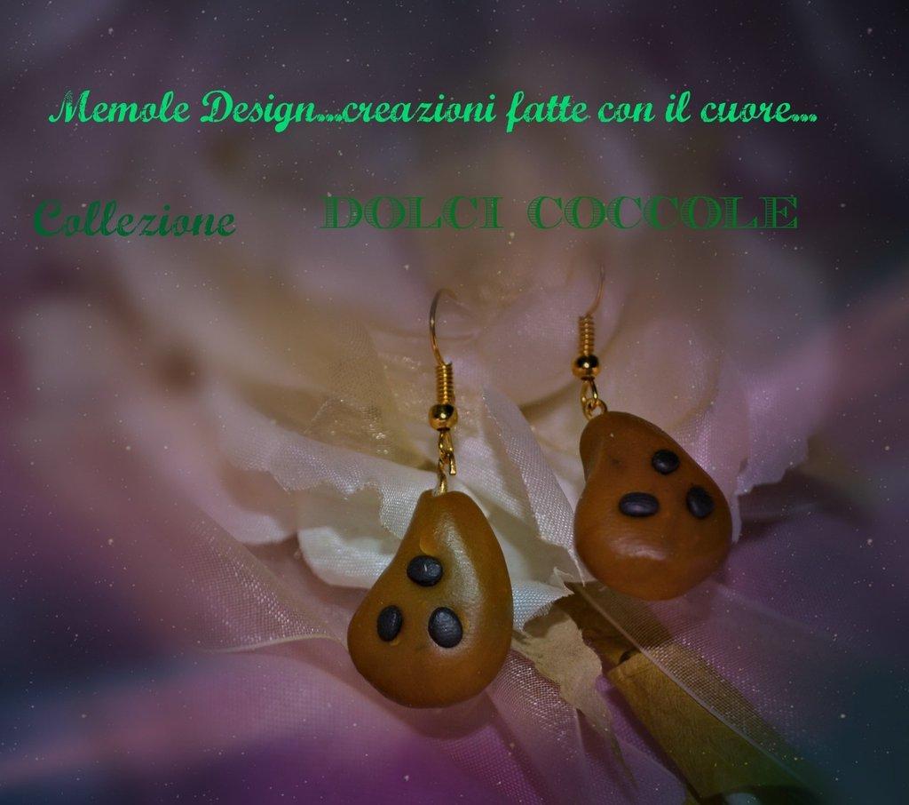orecchini biscottini  Memole design