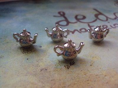 Charm teiera argento
