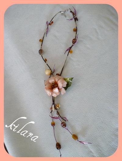 Collana fiore sospeso