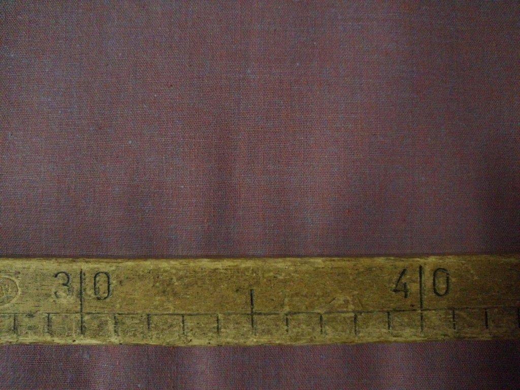 Taglio scampolo stoffa cotone effetto lilla vintage anni 70