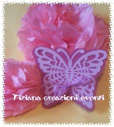 invito farfalla
