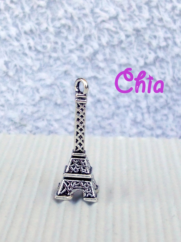 5 charms tour eiffel 27x9mm