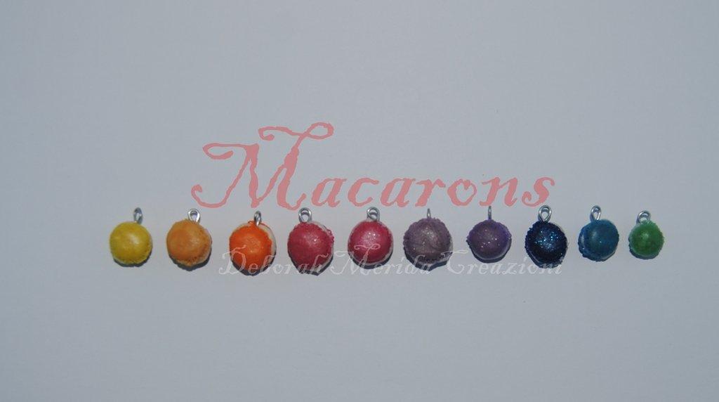 Macarons: ciondoli per tutti i gusti! (E in tutti i colori più gustosi)