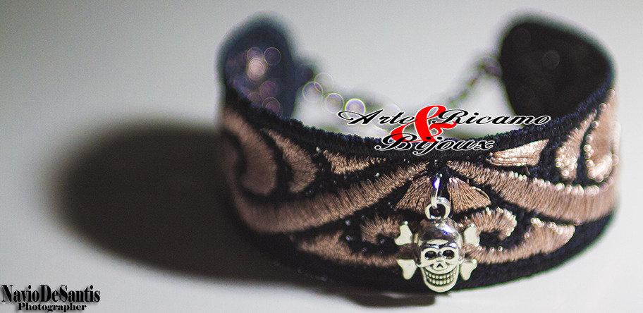 Bracciale Maori tattoo in macramè by Arte Ricamo & Bijoux