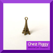 2 x Charm Torre Eiffel - Bronzo