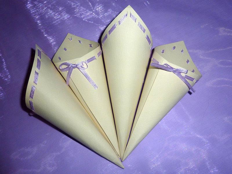 Coni porta riso per matrimonio feste matrimonio di - Cesti porta bomboniere matrimonio ...