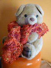 sciarpa moda arancio