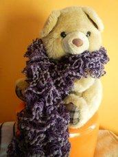 sciarpa moda viola