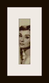 schema bracciale Audrey H in stitch peyote pattern - solo per uso personale