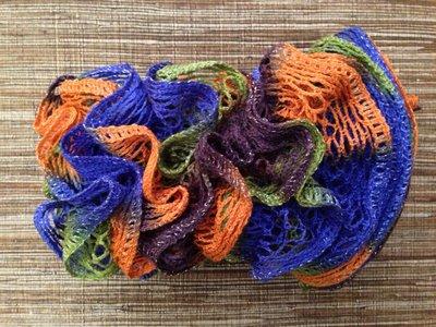 Sciarpa voulant multicolor