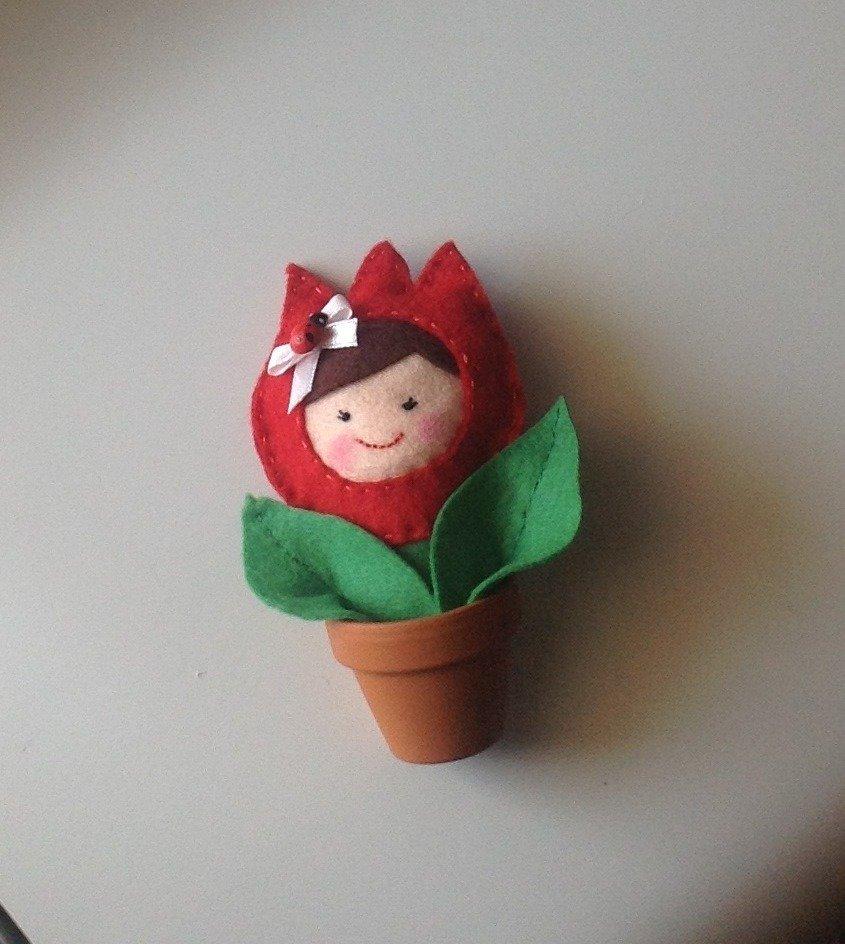 Fiore tulipano portafortuna