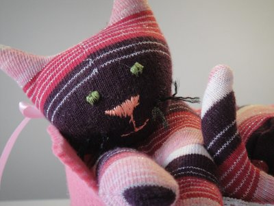 Sock toy - gattina