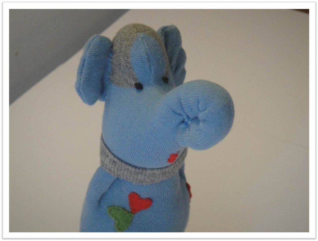 Sock toy - elefante