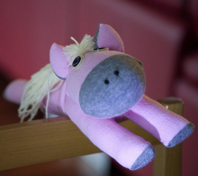 Sock toy - pony