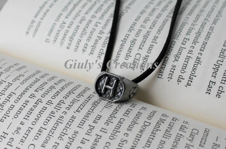 Anello degli Herondale dalla saga The Mortal Instruments - Shadowhunters