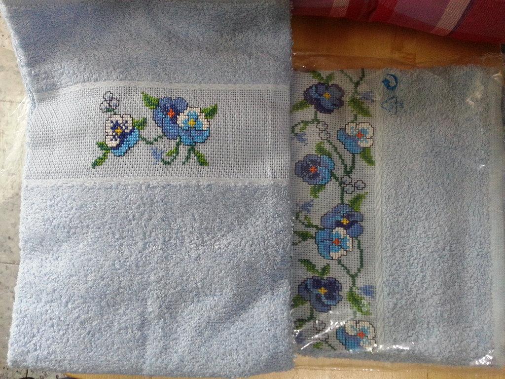 Set di 2 asciugamani