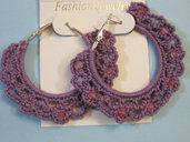 orecchini base ad anelle