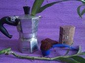 Sapone cacao, caffe' e sale, effetto scrub con concentrato di attivi drenanti