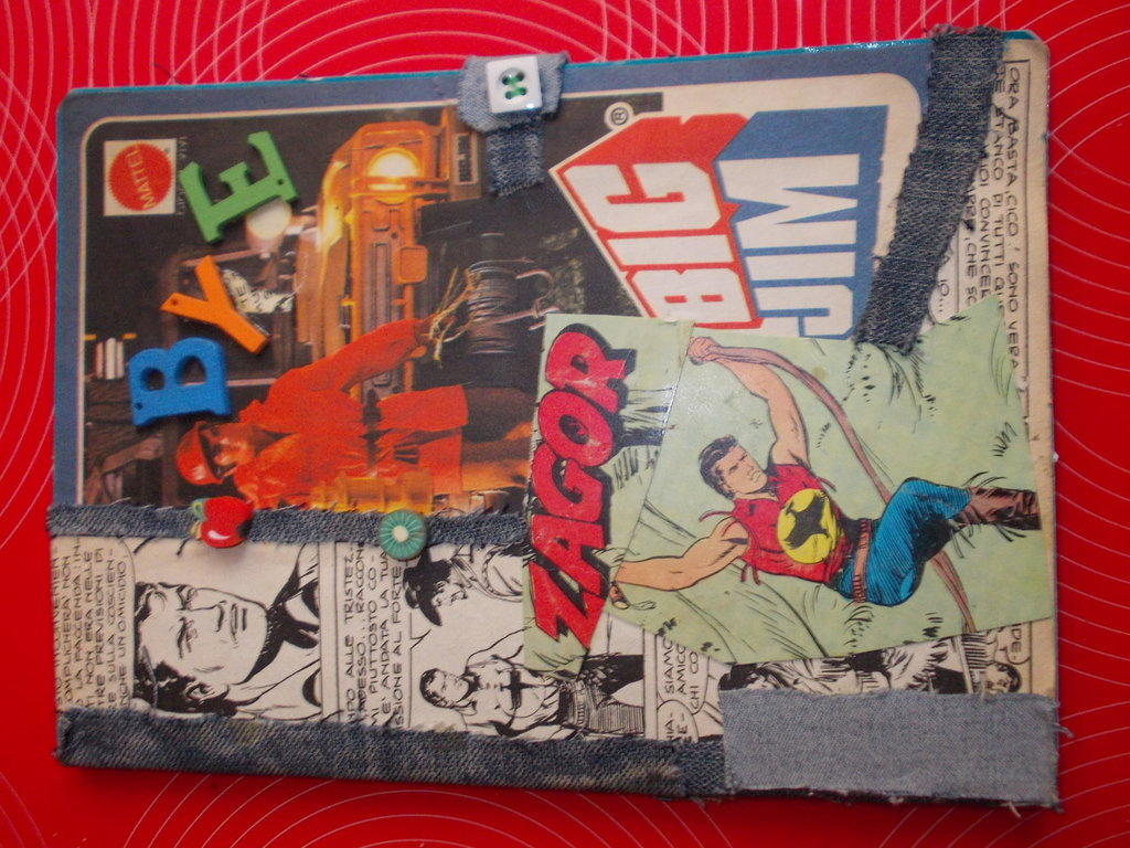 quaderno collage