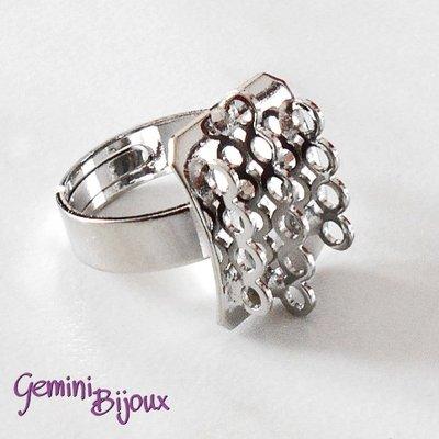 Base anello con 14 anellini