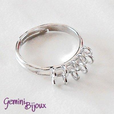 Base anello con 10 anellini
