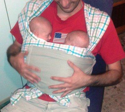Fascia porta bebè - Canguro-terapia