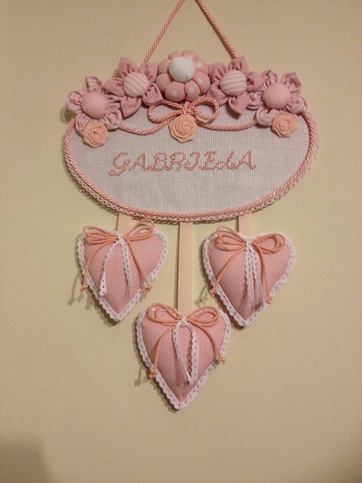 """fiocco nascita """"Gabriela"""""""