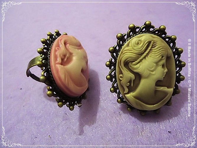 Cammeo Anello regolabile/Cameo Ring adjustable